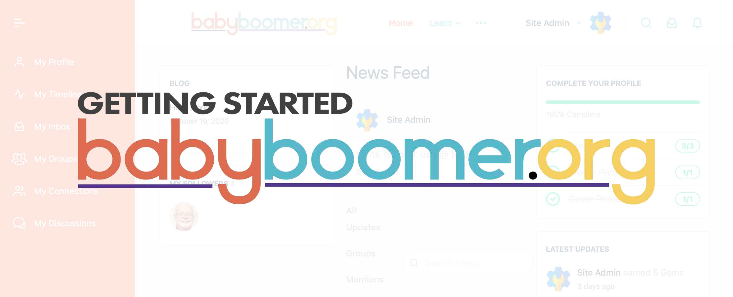 Getting The Most Out of BabyBoomer.org!